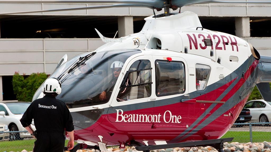 Beaumont Hospital Launches 1st Helicopter Service – CBS Detroit