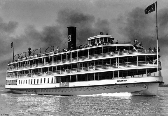 Effort To Restore Old Boblo Boat Continues With River Cruise