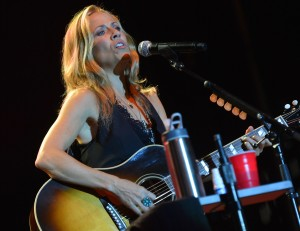ENTERPRISE, AL - JUNE 16: Sheryl Crow performs at the 2012 BamaJam Music and Arts Festival - Day 3 at BamaJam Farms in Enterprise, Alabama on June 16, 2012 (Photo by Rick Diamond/Getty Images)