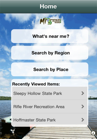 App of the Week: Michigan Camping and Recreation Locator
