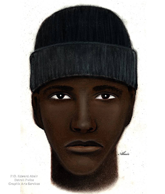 Suspect sketch (credit: Crime Stoppers)