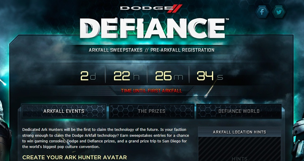 Dodge Launches TV Ad, Social Gaming Sweepstakes With Syfy