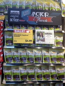 Some Michigan products for sale at Whole Foods in Detroit. (credit: Sean Lee/WWJ)