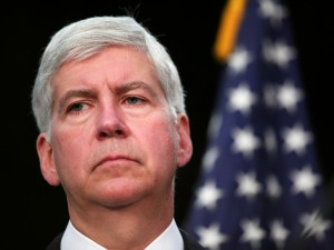 Michigan Gov. Rick Snyder (Credit: Bill Pugliano/Getty Images)