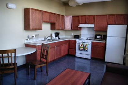 An apartment at the Bell Building. (credit: Neighborhood Services Organization)