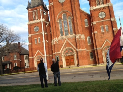 St. Josaphat Roman Catholic Church on East Canfield in Detroit, MI (Photo Credit: Mike Campbell)
