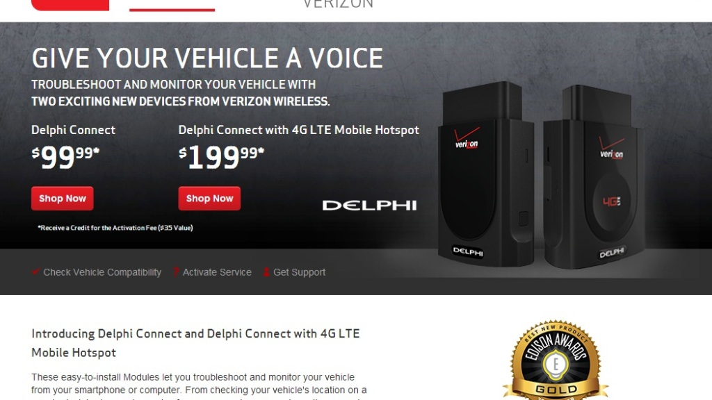 Delphi, Verizon To Turn Mobile Phone Into In-Car Wi-Fi – CBS