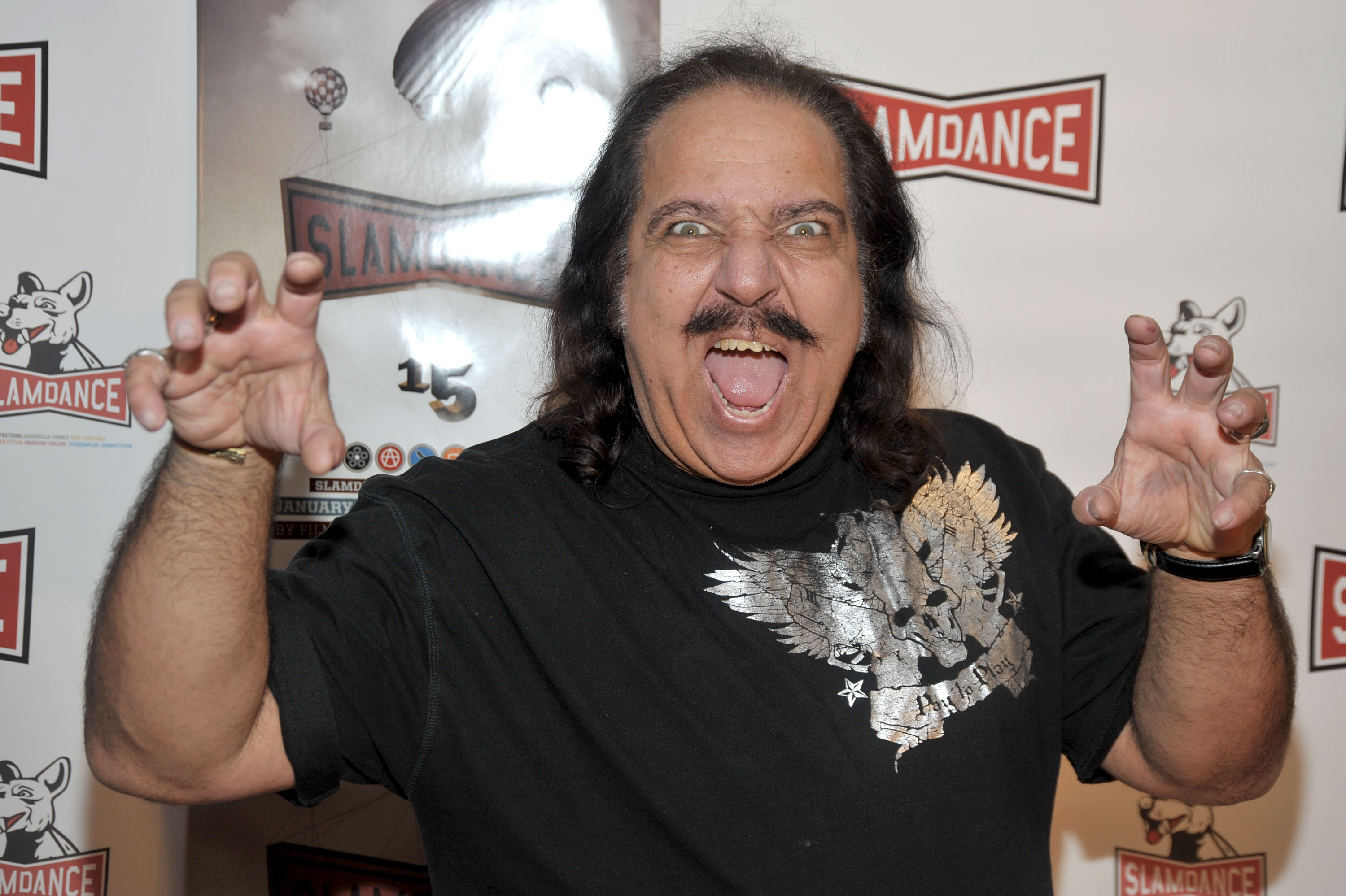 PARK CITY, UT - JANUARY 18: Actor Ron Jeremy attends the premiere of 'Finding Bliss' held at the Treasure Mountain Inn during the 2009 Slamdance Film Festival on January 18, 2009 in Park City, Utah. (Photo by Frazer Harrison/Getty Images)