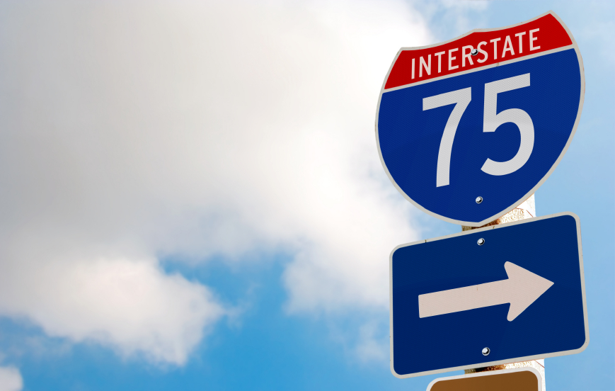 Traffic Alert: Southbound I-75 To Close From Detroit To
