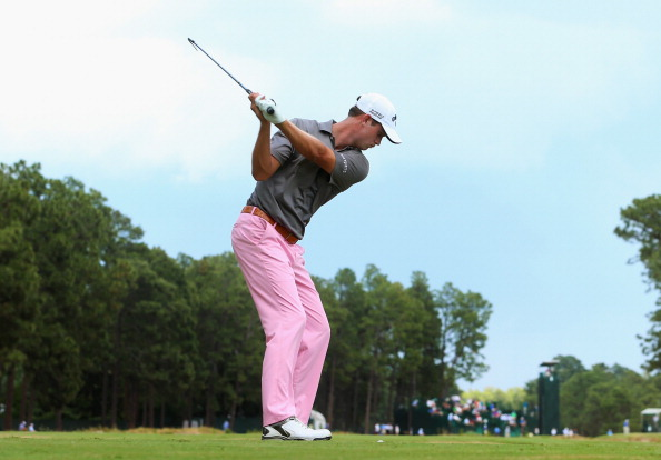 Harris English during the first round of the 114th U.S. Open. (credit: Andrew Redington/Getty Images)