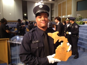 Officer James Hill Harris.(Vickie Thomas/WWJ)