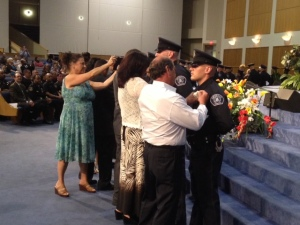 Twenty nine new recruits graduated from the Detroit Police Academy (Vickie Thomas/WWJ)