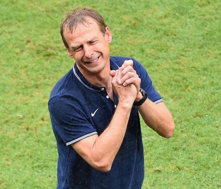 Head coach Jurgen Klinsmann of the United States (credit: Laurence Griffiths/Getty Images)