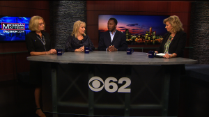 Suzy Avery, Denise Ilitch and Bankole Thompson with Carol Cain, talk about the primary and what it means for this fall's election in Michigan. (credit: CBS 62)