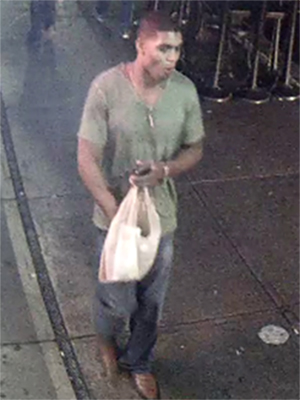 The man pictured here is suspected of raping a University of Michigan student near campus. (Credit: Ann Arbor Police)