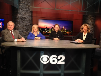 L. Brooks Patterson, Denise Ilitch and Jill Alpert join host Carol Cain to talk about election 2014 and what's  ahead in 2015. (credit: James C. Turner/CBS 62)