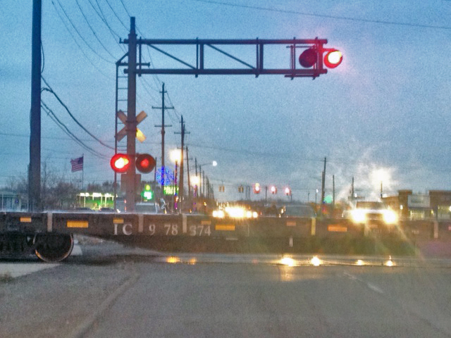 Car Hits Stalled Train At 'Notorious' Woodhaven Railroad