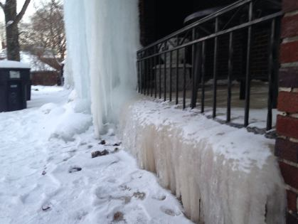 It's been called the Ice House in Detroit. (WWJ/Stephanie Davis)