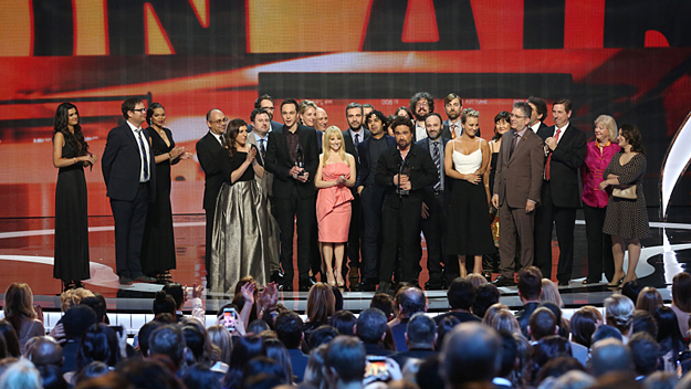 The People's Choice Awards and The Big Bang Theory (Photo by Sonja Flemming/CBS)
