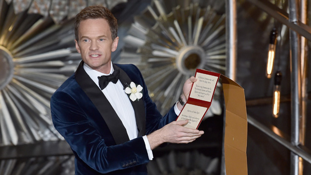 Neil Patrick Harris at the 87th Academy Awards (Photo by Kevin Winter/Getty Images)