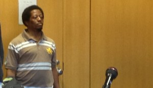Derrick Felton in court. (WWJ/Ron Dewey)