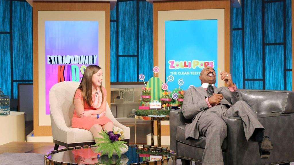 Fabulous 9 Year Old Walled Lake Girl Featured On Steve Harvey For Machost Co Dining Chair Design Ideas Machostcouk