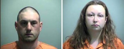 Steven and Sarah Nick (credit: Genesee County Sheriff's Office)