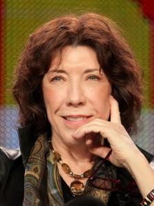 Comedian/actress Lily Tomlin speaks during the 'The Best of Laugh-In' panel at the PBS portion of the 2011 Winter TCA press tour held at the Langham Hotel on January 8, 2011 in Pasadena, California. (Photo by Frederick M. Brown/Getty Images)