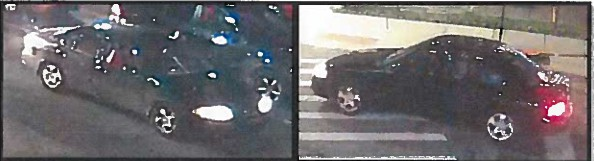 Greektown shooting suspect vehicle (credit: Detroit police)