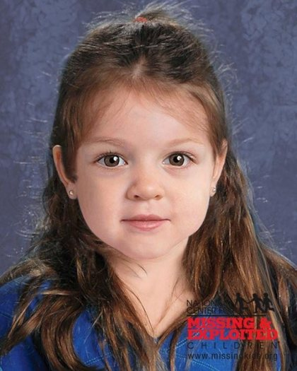 """A digital image of """"baby doe,"""" a young girl found on a Massachusetts beach on June 25, 2015. Authorities in Michigan are investigating if the body has any connection to Katherine Phillips, a baby who disappeared four years ago. (Courtesy: National Center for Missing and Exploited Children)"""