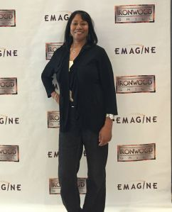WWJ's Terri Lee arrives at the Emagine Palladium on Press Preview Day.