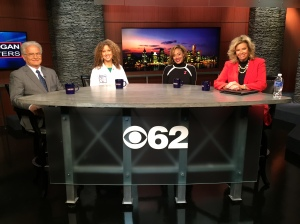 William W. O'Neill, Dr. Deirdre Mattina and Melissa Thrasher join Carol Cain to talk about February being Heart Month and heart issues. (credit: Derek Fawaz/CBS 62)