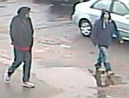 Police are trying to identify these suspect, wanted for car theft in Waterford. (police handout)