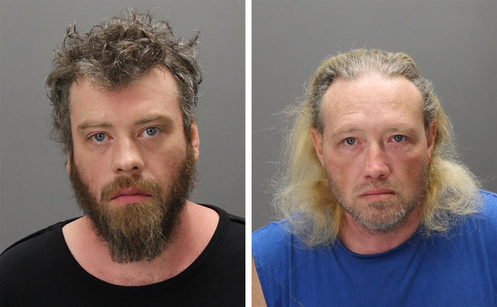 Wesley Brown, left. and Adam Brown (Booking photos)