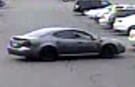 The suspects fled the scene in this vehicle. (police handout)