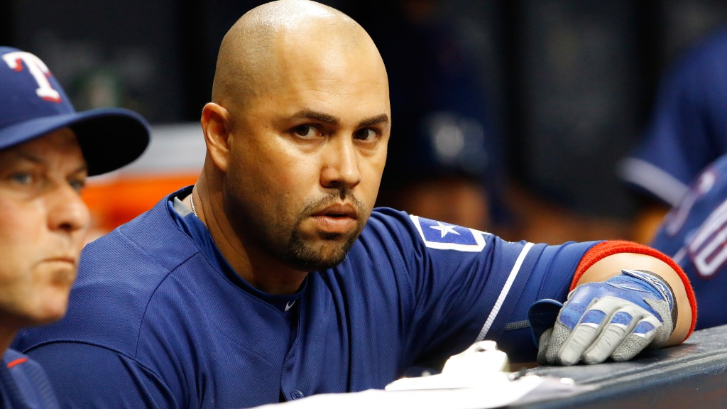 Carlos Beltran Decides To Color His Hair With Black Marker