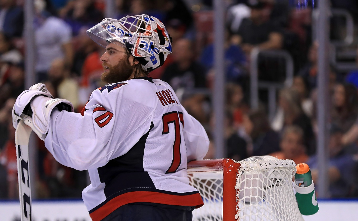 Washington Capitals Goalie Braden Holtby With The Saves Of The Year So Far Video Cbs Detroit