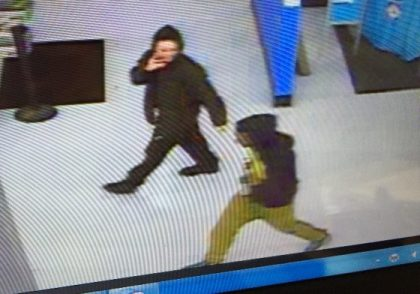 Suspects in the home invasion seen at Walmart. (credit: Warren police)
