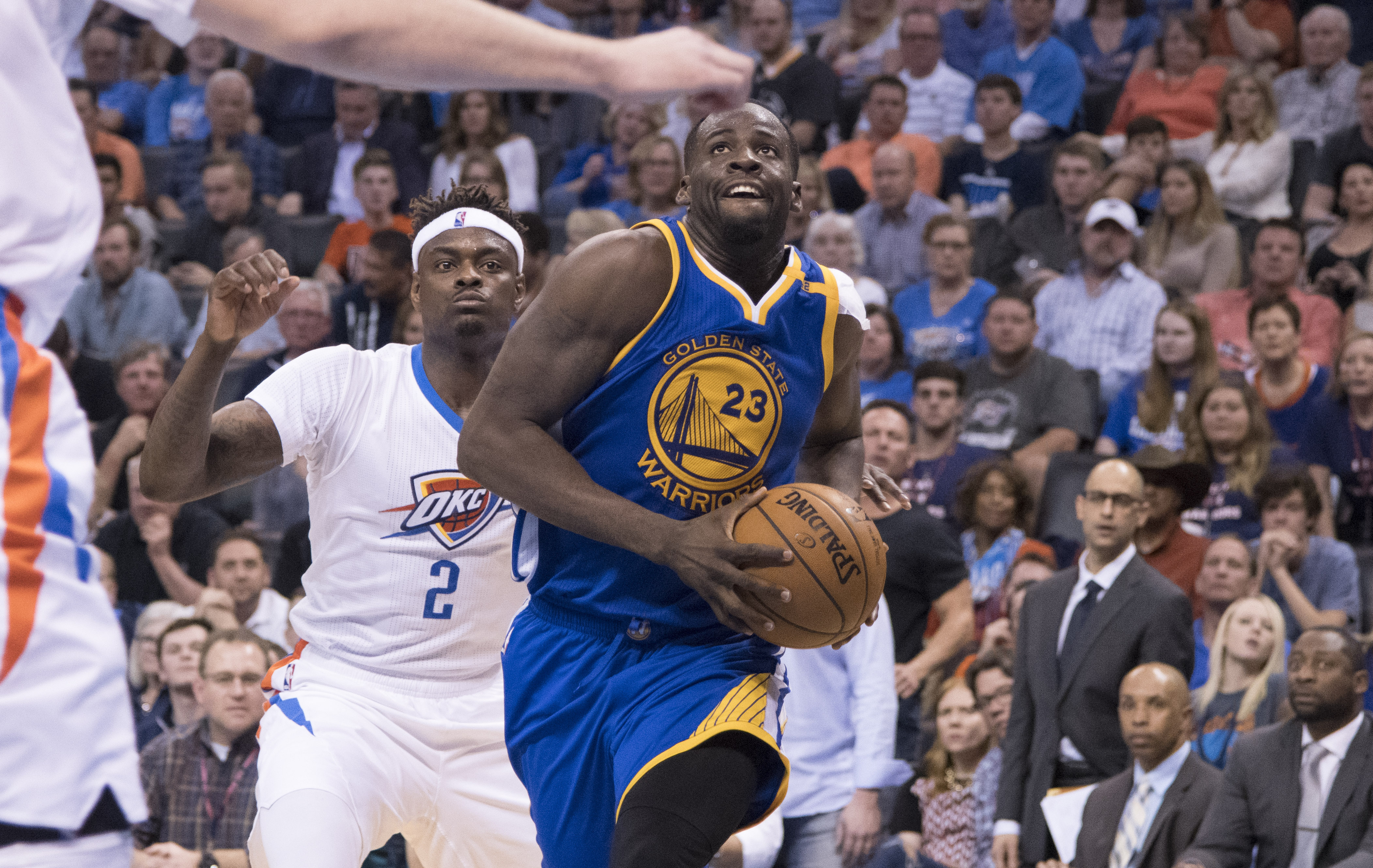online retailer a8334 31594 Draymond Green Trolls Oklahoma City Thunder With Cupcake T ...