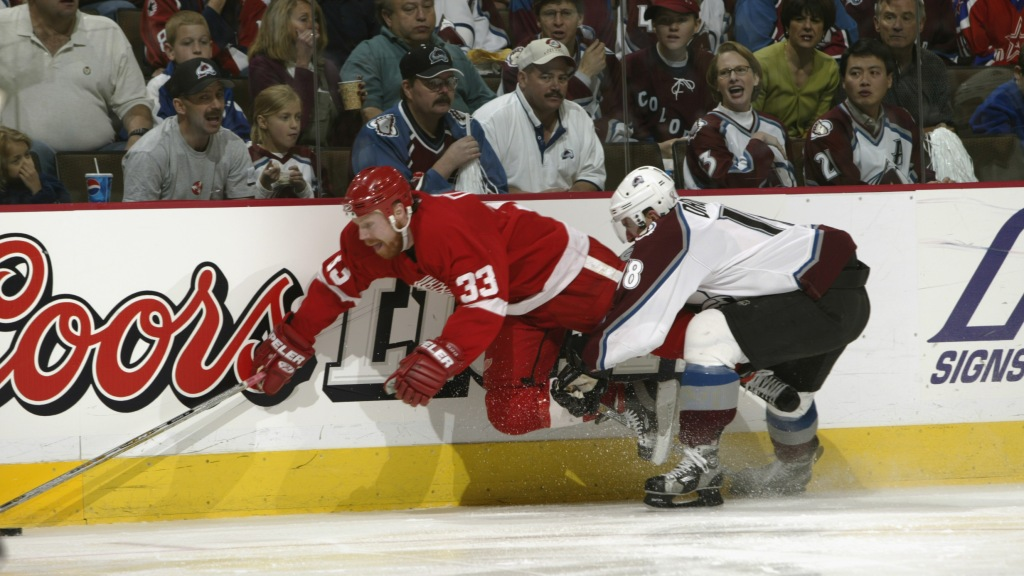 Kris Draper Tried To Return To Game After Claude Lemieux Broke His