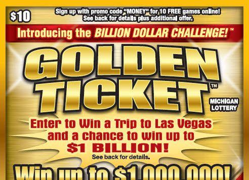 Win Up To $1 Billion With New Golden Ticket From The