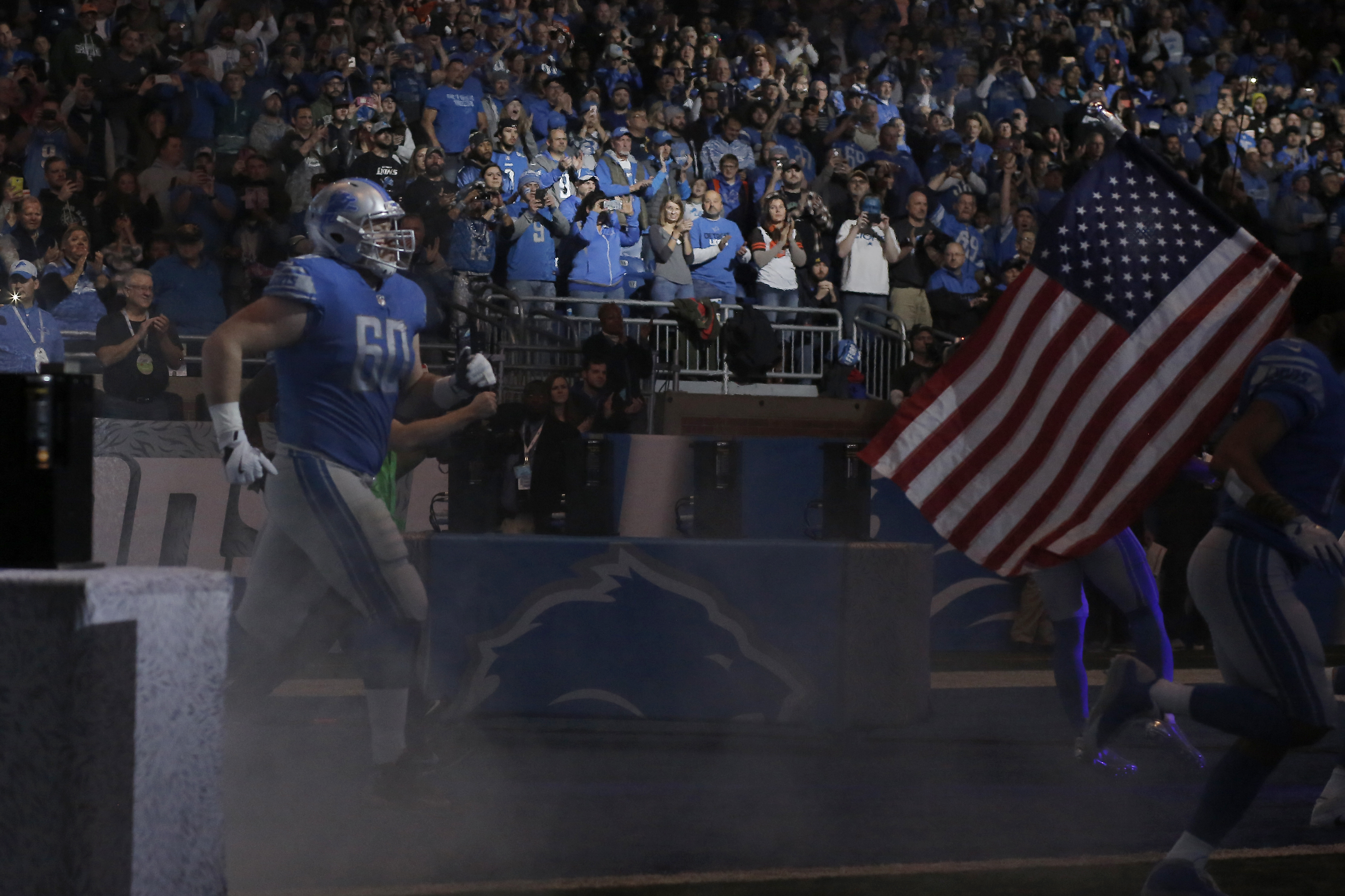 Detroit Lions To Open Gates Early For Thanksgiving Day Game