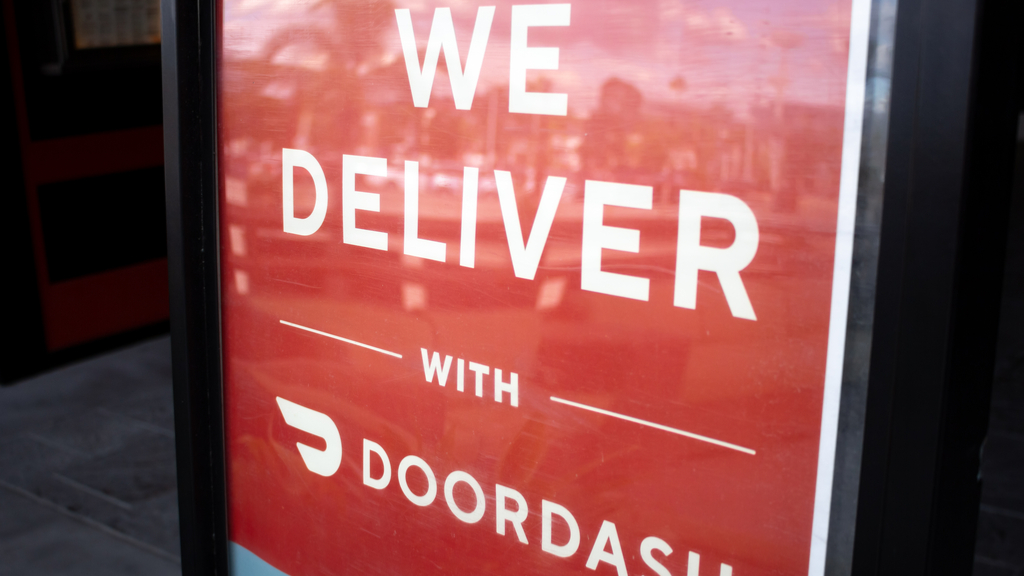 Caught On Cam: DoorDash Driver Looks As Thought He Drinks