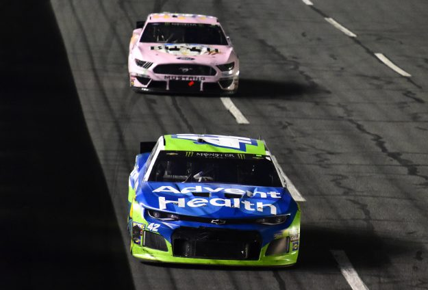 Larson Gets First NASCAR All-Star Victory With Help From