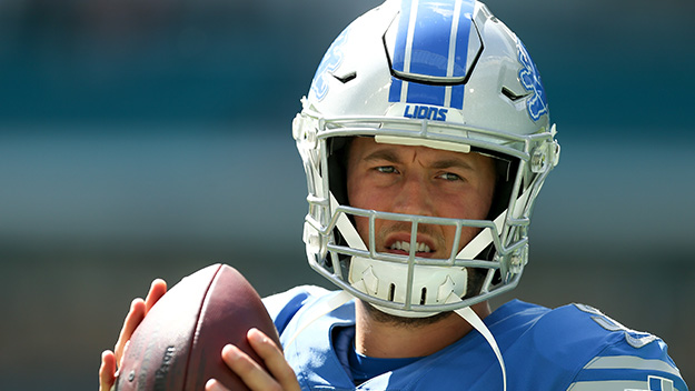 Matt Stafford Dealing With Wife, Life & Being Lions Signal
