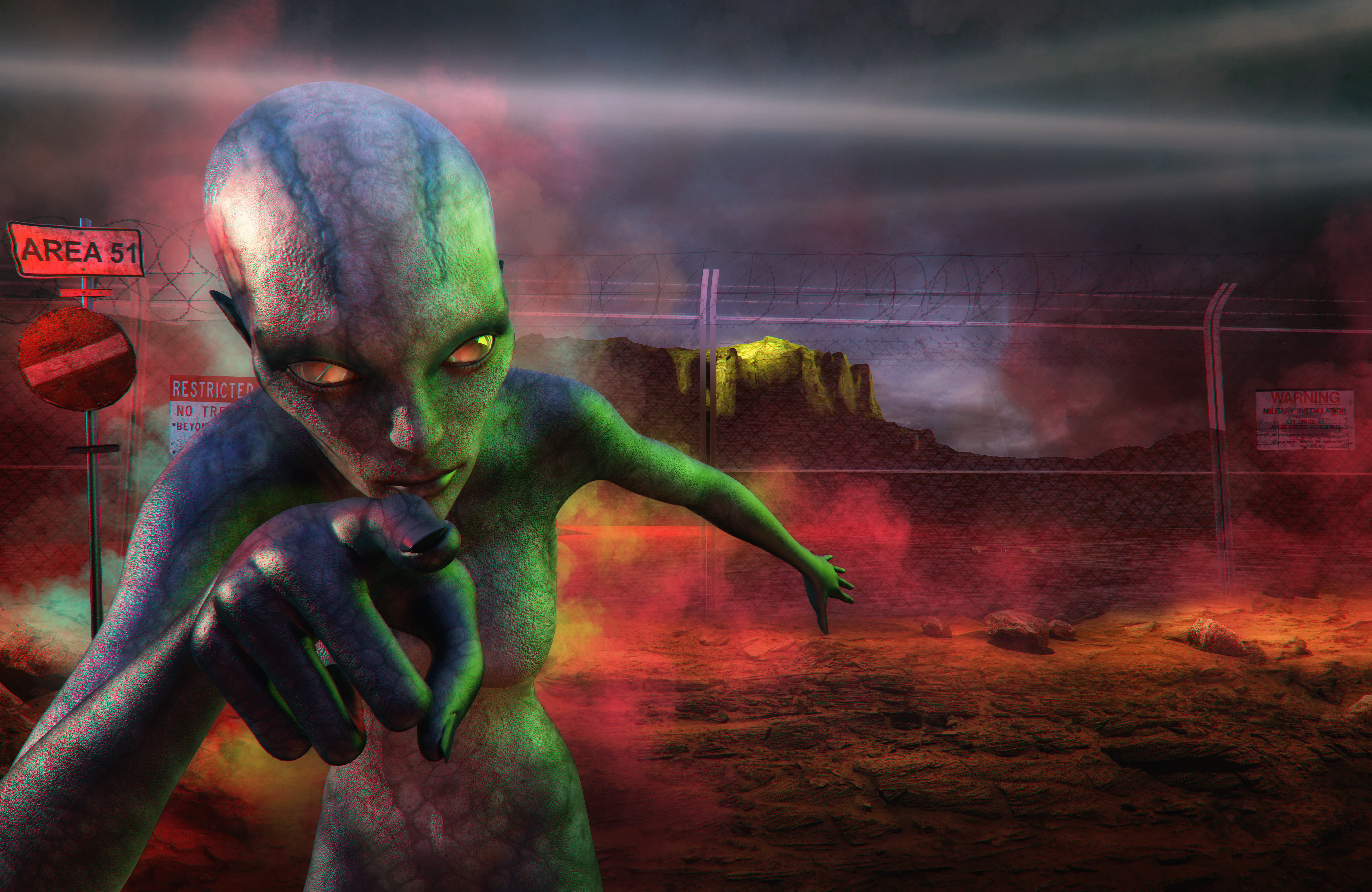 The Guy Behind The 'Storm Area 51' Facebook Event Is Hosting