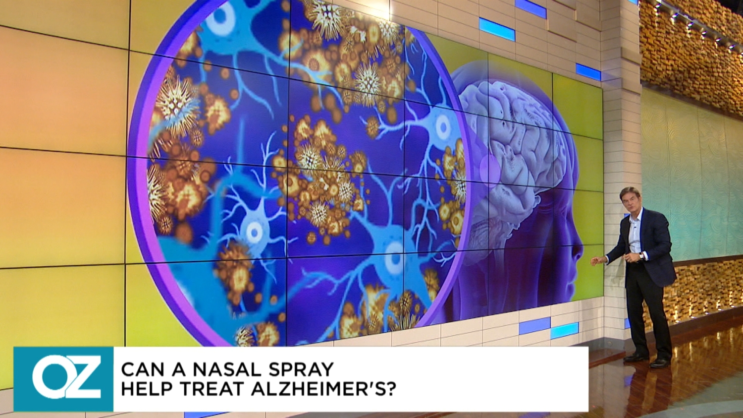 The Search For The Alzheimer's Cure: Could This Nasal Spray Improve Symptoms In The Brain?
