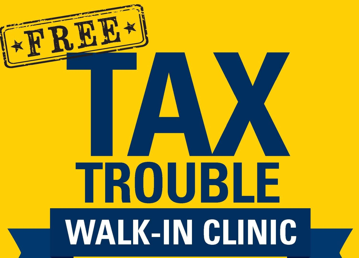 Free Tax Trouble Walk-In Clinic Held At Northwest Activities Center
