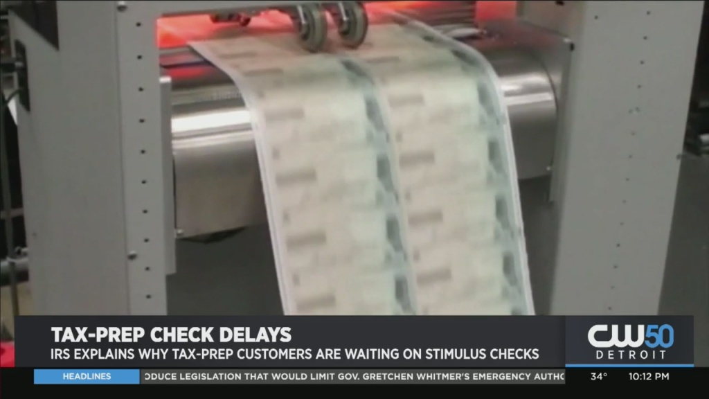 IRS Explains Why Tax-Prep Customers Are Waiting On Stimulus Checks