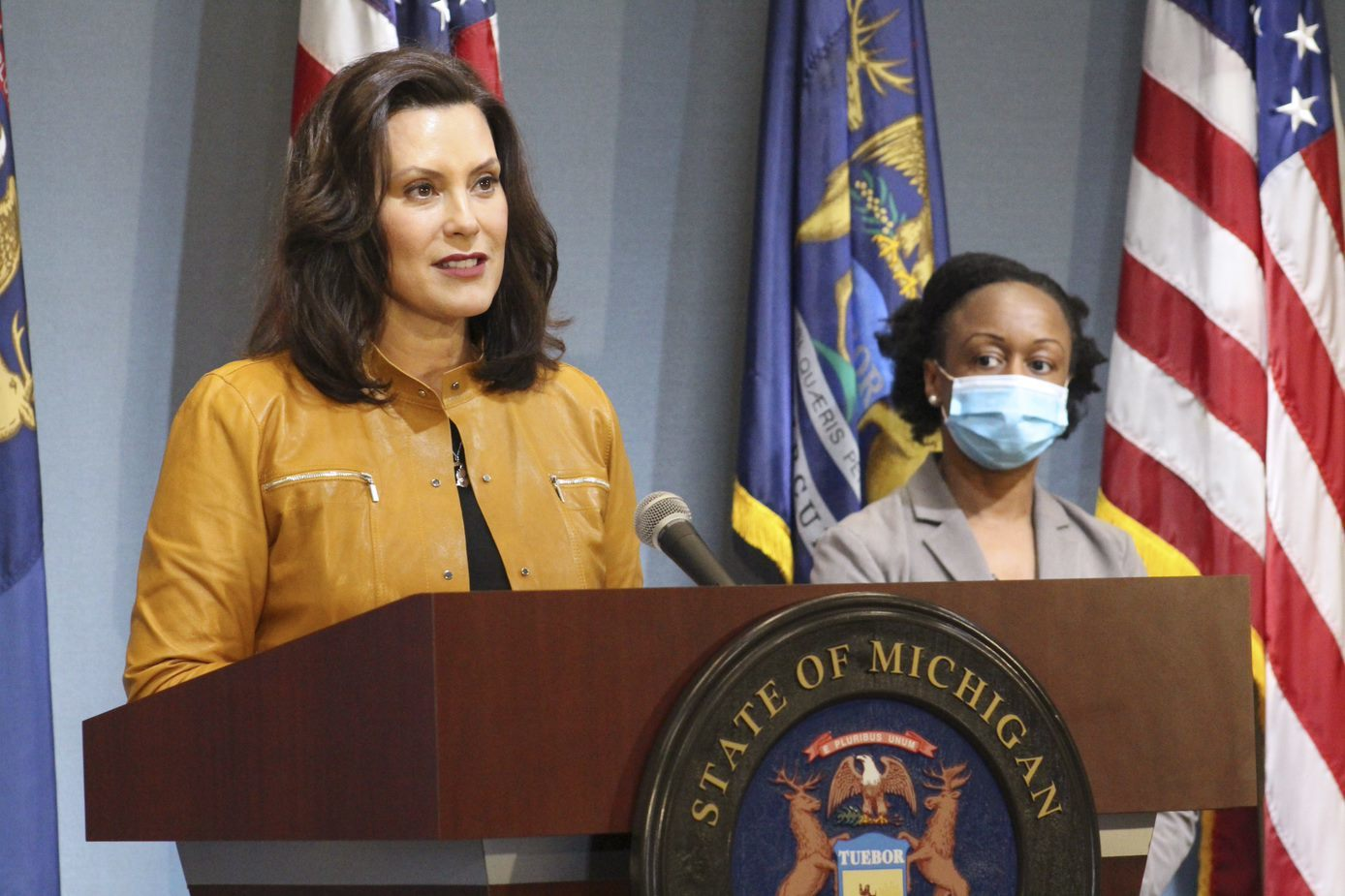Missed Gov Whitmer S Press Conference Here S Her Update On The State S Response To Covid 19 Cbs Detroit